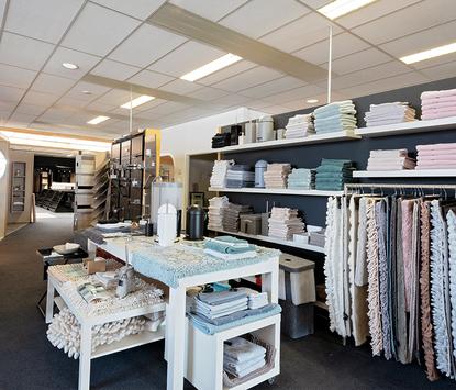 Van der Meulen Badkamers showroom badtextiel