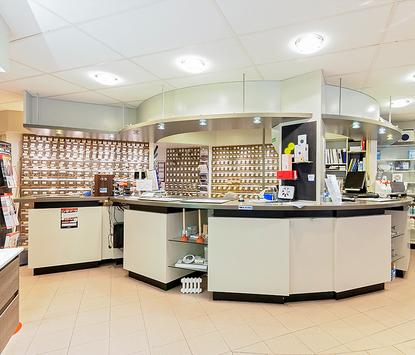Everts Badkamers showroom installatiebalie