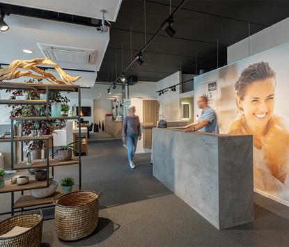 Gitsels Badkamers showroom