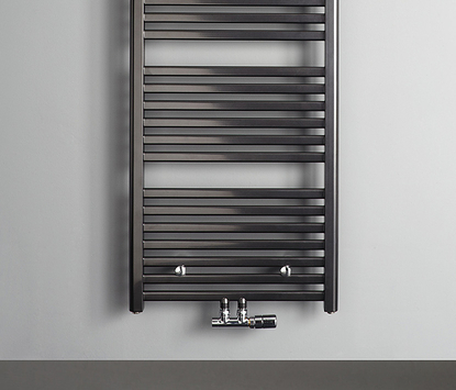 Mix & Match radiator Calda zwart detail