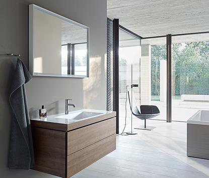 Duravit Vero Air badkamermeubel wastafel spiegel badkamer