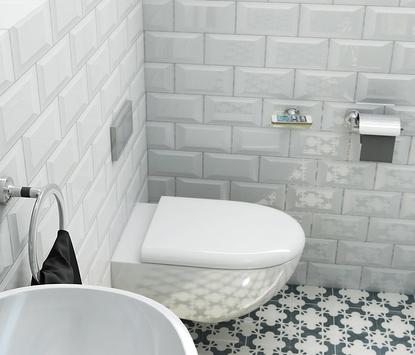 Geesa badkameraccessoires Tone serie toilet