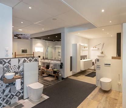Willemsen Installatiebedrijf showroom badkameropstellingen
