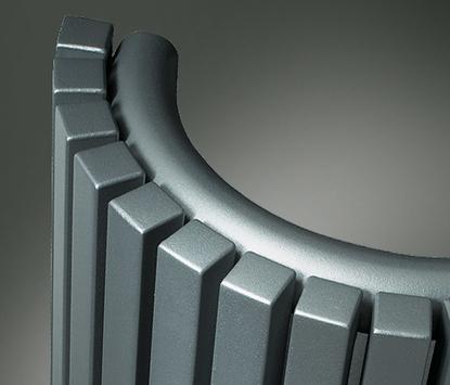 Vasco - Carre - elektrische radiator - halfrond