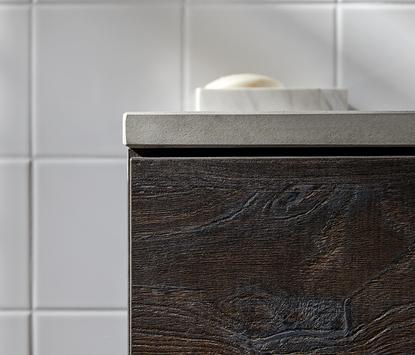 Primabad Made NL - donker badkamermeubel