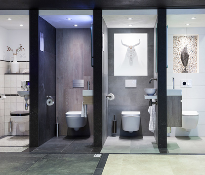 St Pieter Tilburg Showroom Toiletten