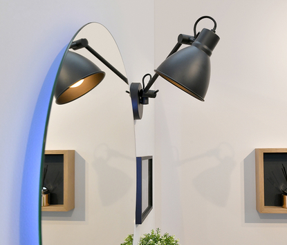 Looox - badkamerverlichting - twist light mono