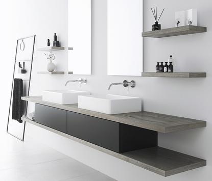 Badkamerkast en meubel dat je zelf kunt samenstellen