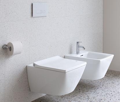 Vierkant toilet