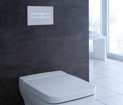 Toilet met ledverlichting