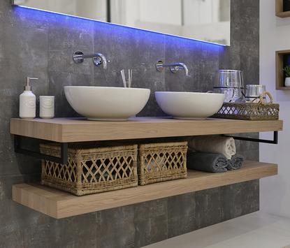 Moderne wastafel