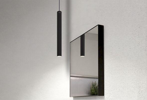 Inspiratie: 4x zwart in de badkamer - 3. Hypermoderne radiator