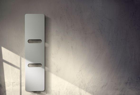 Inspiratie: zwart in de badkamer - 3. Hypermoderne radiator