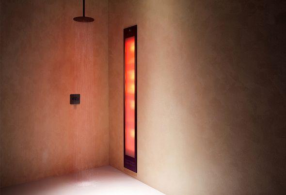 Inspiratie: zwart in de badkamer - 2. Comfortabel douchen