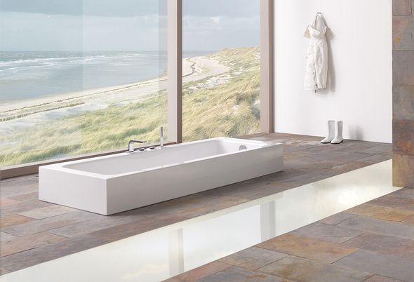 Materiaal van een ligbad: dit zijn de verschillen - 1. Materiaal bad - fotos