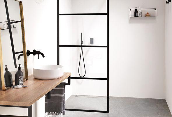 Industrieel: ideeën voor uw badkamer - 1. Soho en hotbath douche fotos