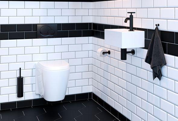Industrieel: 5x ideeën voor uw badkamer - 3. Badkameraccessoires