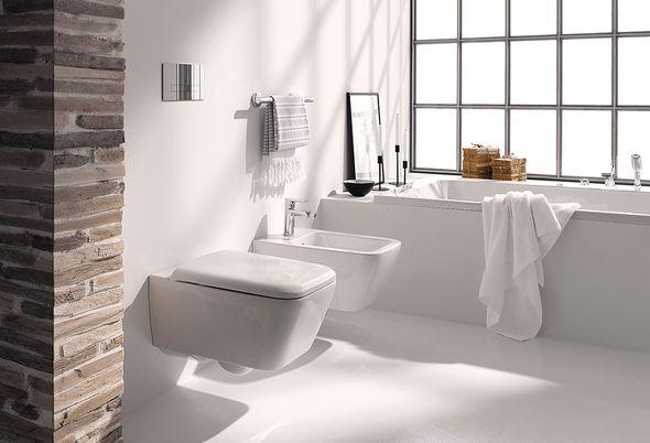 Het toilet schoonmaken? Zo doe je dat - Hardnekkige kalkaanslag verwijderen en Onderhoudsvrij toilet van Ideal Standard