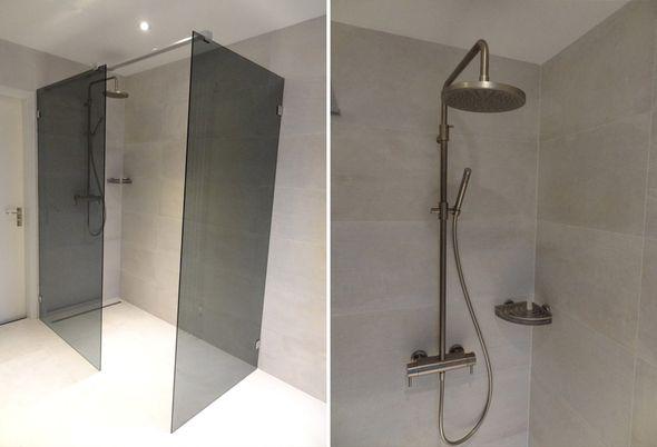 Tegels Badkamer Lelystad : Industriele badkamer in lelystad de wilde tegels sanitair