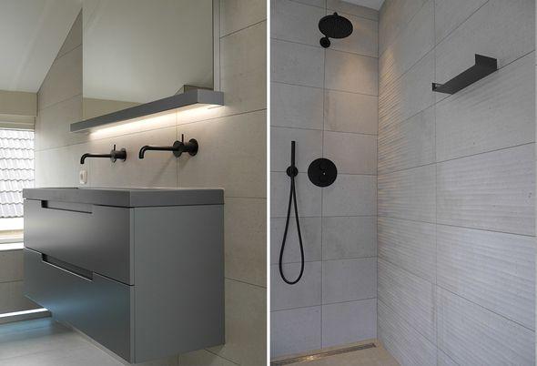 Binnenkijken: Industriële badkamer in Drachten - Slim badkamerontwerp & comfortabel toilet
