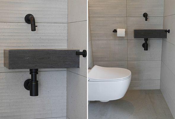 Industriële badkamer in Drachten -Van der Meulen Badkamers & Tegels