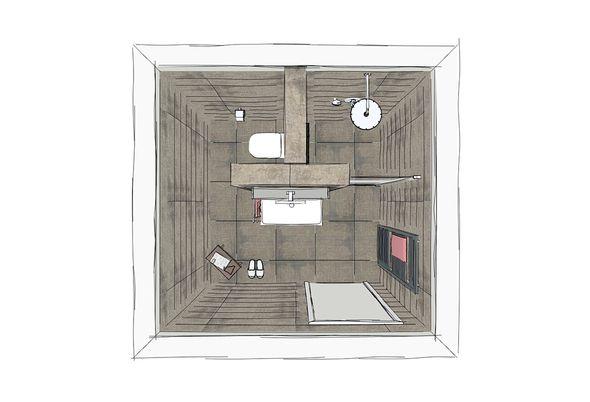 Badkamer ontwerp programma