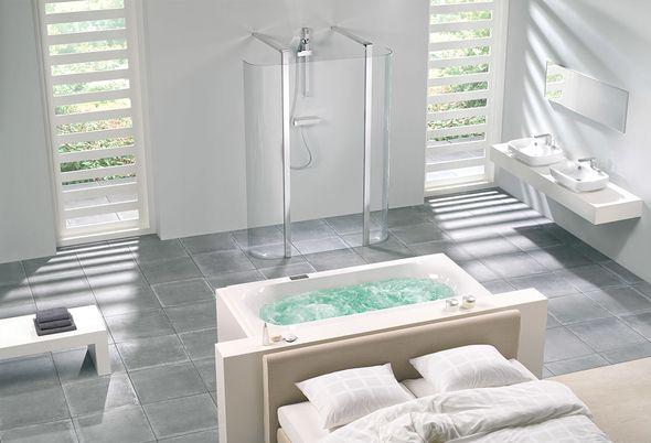 Bad in de slaapkamer - ventilatie en verwarming