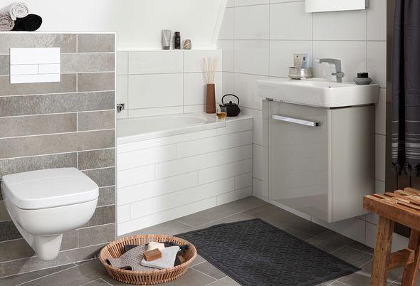 Tips voor een kleine badkamer met bad - afbeeldingen kleine badkamer met bad