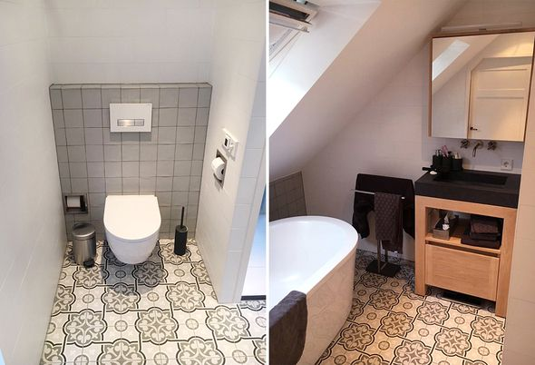 Gerenoveerde badkamer in Nieuwerbrug - Astra Badkamers & Tegels