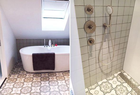 Badkamer En Toilet : Gerenoveerde badkamer in nieuwerbrug astra badkamers tegels