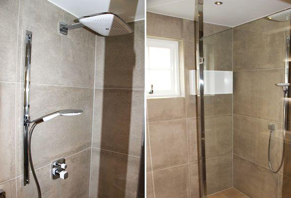 Kleine badkamer en toilet in nunspeet de wilde tegels sanitair