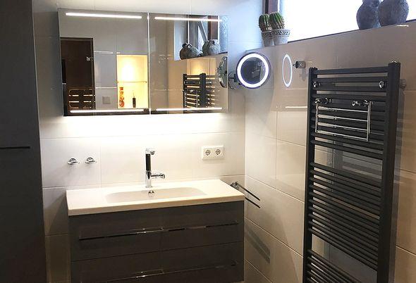 Luxe Badkamer Interieur : Luxe badkamer in nieuwerkerk aan den ijssel badkamerstudio roggeveen