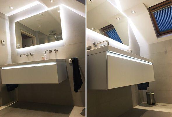 Inloopdouche Met Badkamerspecialist : Binnenkijken: moderne badkamer in dokkum van der meulen badkamers