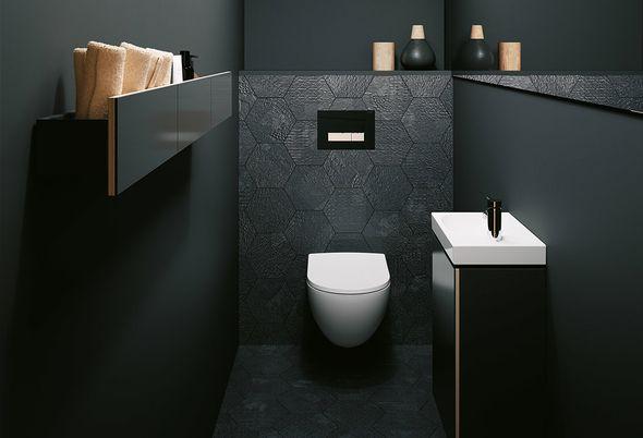 Staand Toilet Vervangen : Toilet verbouwen van staand naar hangend toilet bliek sanitair