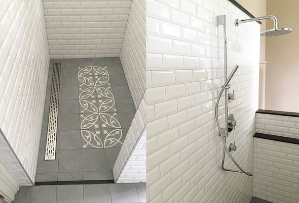 Binnenkijken: Landelijke badkamer in Ewijk - Ruime inloopdouche