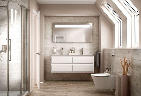 Mix & Match badkamermeubel - 2. MM Uw meubel indelen zoals u wilt