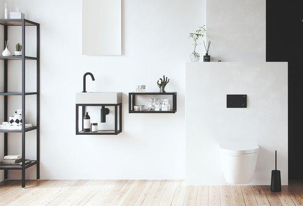 Toiletruimte inrichten - Toiletmeubel zelf samenstellen