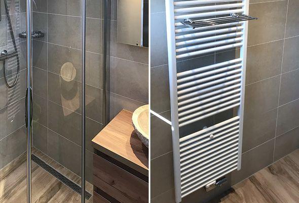 Tegels Badkamer Nunspeet : Natuurlijke badkamer in nunspeet de wilde tegels sanitair