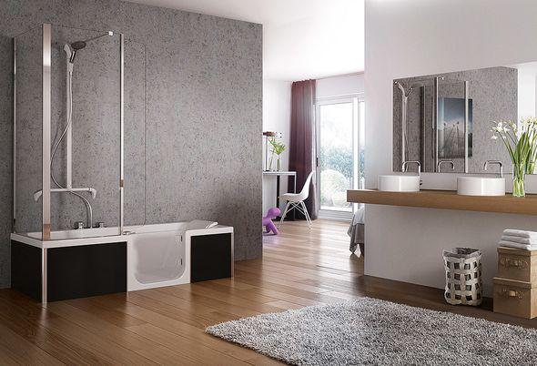De veilige badkamer voor de toekomst - Veilig douchen en badderen