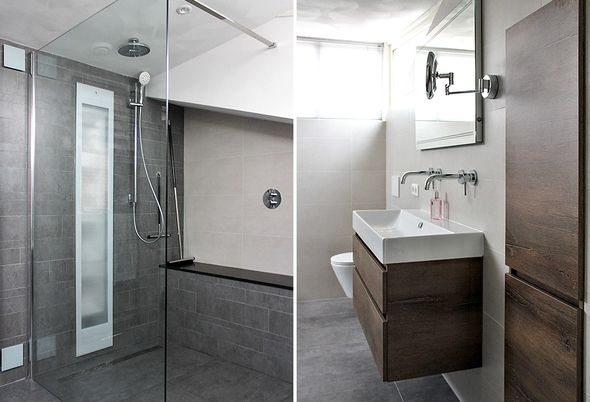 Tegels Den Bosch : Zonnige badkamer in den bosch badkamerid specialist in complete