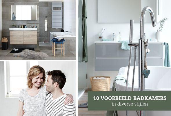 Baden+ badkamer lookbook - Badkamerinspiratie