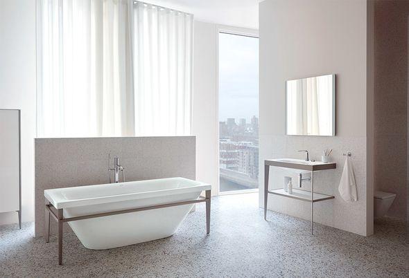 Design in de badkamer - 2. Badkamer design toont lef