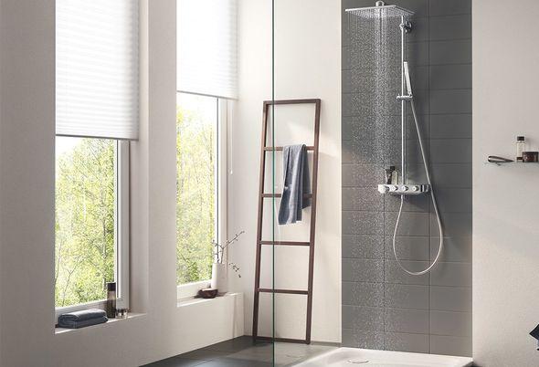 Grohe douchesystemen - 1. Grohe voordelen van Grohe douchesystemen