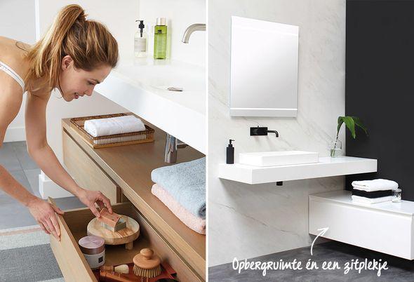 De badkamer op maat - maatwerk mm en slimme indelingen