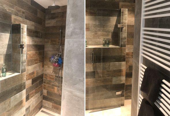Warme badkamer in Doesburg - Maatwerk douche en toiletruimte