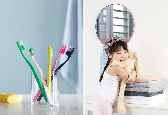 Pastelkleuren in de badkamer - 2