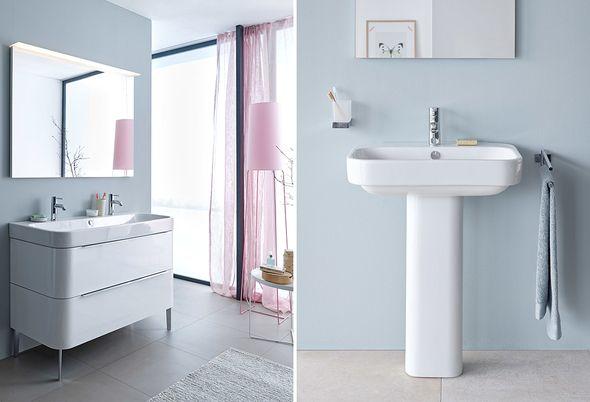 Pastelkleuren in de badkamer - 1