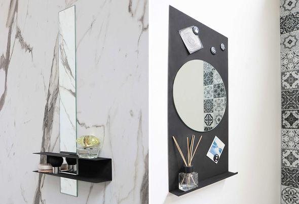 spiegel in de badkamer - 3.