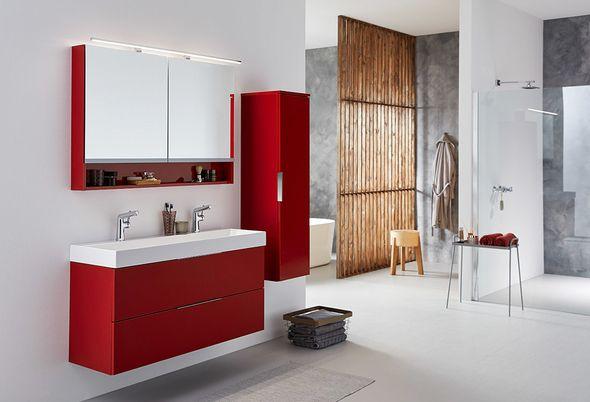 Kleur in de badkamer - natuurlijke kleuren en krachtige kleuren
