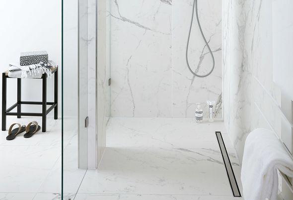 Tegels kleine badkamer - 1. Kleine badkamer, kleine tegels?